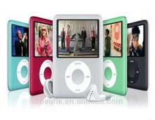 3th gen Mp4 Player packed in the crystal box mini mp4 player cheap mp4