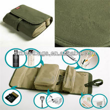 2015 Brand Popular Bags Army Green Toiletry Bag/Blended Toiletry Bag for Outdoor Using