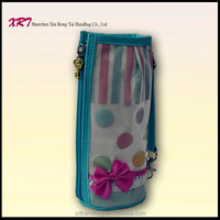 Blue Recycled Plastic Bottle Tote Bag