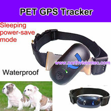 GPS Positioning Smart history tracking Fashion Pet GPS Tracker Applied with Cellphone on the Free Online platform