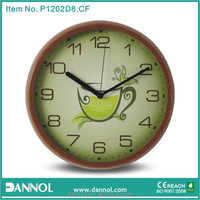 2014 New High Tea 12 Inch Quartz Plastic Wall Clock Kitchen/cizgi meyve resimleri