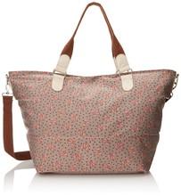 Wild Pair Canvas Weekender With Glitter Trim Duffle Handbag