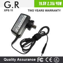 Portable 45W for Dell XPS 13 Ultrabook Charger AC Adapter for dell laptop power supply