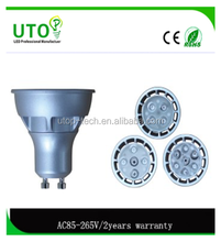 3W Ceiling Recessed LED COB Aluminum Spotlight Indoor Ligting LED Profile Spotlight for Stage Lighting, Theater