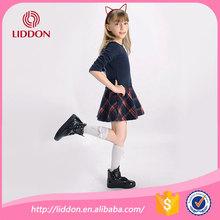 wholesale elite semi-high cotton socks for teen girls,Japan and Korea style girls party dress semi-high socks