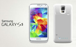 Newest Products Rechargeable External Battery Case backup power case for Samsung Galaxy S5