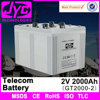 2v 2000ah msds sealed lead acid used telecom batteries