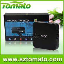 Amlogic8726 Dual Core MX Tomato mx key box Android Smart TV BOX
