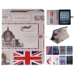 Shenzhen Factory Protective PU Leather Case for iPad mini 2/3/4, For iPad Leather Case