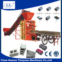 QTJ4-26C new machine for small business, machine production line small business, Low cost high profit small brick factory