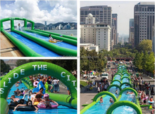 Water slide sports products inflatable water slide city
