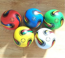 The Popular promotion customized PVC/PU/TPU smooth surface soccer ball/football