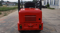 4wd mini articulated hydraulic mini loader with famous engine