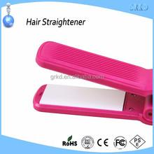 mini flat iron no heat hair straightener