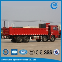Howo 3 axle dump trucks for sale
