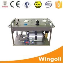 probador portátil Utilice para Gauge Calibración hidráulica bomba de prueba de presión