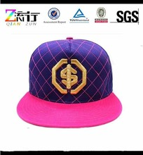 Wholesale Blank Plain Good Quality Custom Embroidery Basketball Snapback Hat