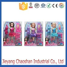 Child Real Doll With Fashion Dress Doll Manufacturer Mini Plastic Doll