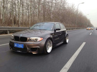Auto tuning M design body kit for E87 1 series 120i 130i PP material perfect fitment