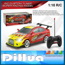 1:18 RC Mitsubishi Model Toy MITSUBISHI LANCER EVOLUTION X R/C Car Toy