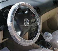 Wholesale Disposable plastic Car Seat Cover set