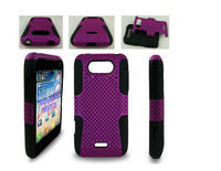mesh combo case for all brand models,factory wholesale,case for LG MS770