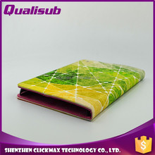 High Quality Cheap Original Wallet Leather Sublimation Case for ipad mini2/3