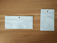 small White Mylar standing up bag