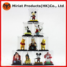 Hot sale collectable plastic 3d mini figurine toys