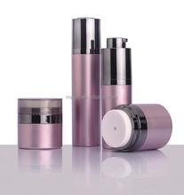 luxury magic round cosmetic bottles ,rotating airless bottle