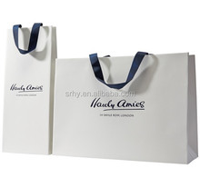 fashion custom recycle shopping paper bag for cloth