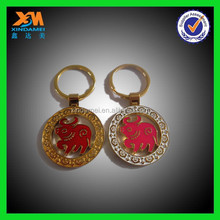 Promote the 12 zodiac signs is a mini cow key ring(xdm-ph358)
