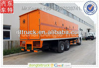 20 tons Howo anti-explosive van truck exported model +86 13597828741