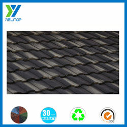 Sand coated 30 yr warranty roofing material spanish recycled roofing tiles
