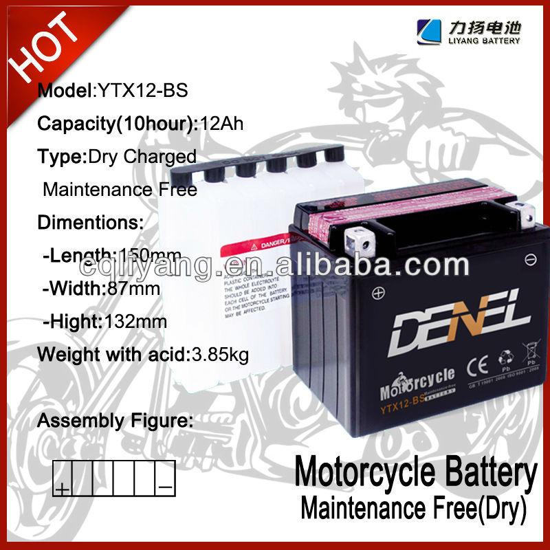 billige china motorrad batterien mit guter qualität