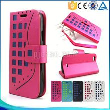 for Karbonn A1 Case ,Pu leather mobile phone case for Karbonn A1