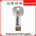 Free Sample Metal Material and Stick Style Promotion gift Metal key 8GB Usb flash drive (paypal/escrow)