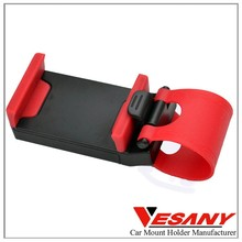 Vesany 2015 Sophisticated plastics unique steering wheel mounted cell phone holder