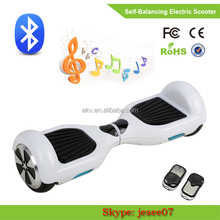 Free shipping hot selling 6.5 Inch electric scooter 2 wheel self balance electric scooter skywalker board 4 colors for choosen