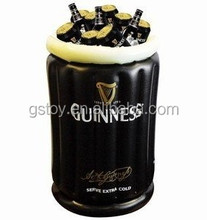 PVC inflatable standing ice container