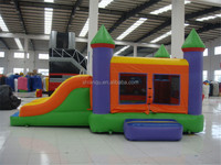 Indoor Kids Inflatable Commercial Castle with Slide