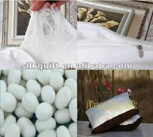 100% tussah silk filled comforter with 200TC cotton cover