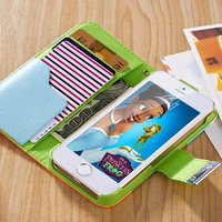 Alibaba China wholesale Book Style Leather Case for Mobile Phone for Iphone5 5S