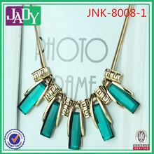 venta al por mayor fábrica popular entregar las mujeres grueso de la moda collar de la joyería collar de jade