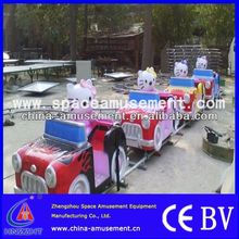 Exacting Entertainment Equipment Battery Operated Track Train For Sale