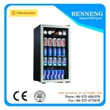 620 Eco-friendly glass door bar fridge/no frost refrigerator for beer, soft drink