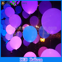 birthday party balloon decoration led latex balloon