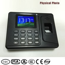 Convenient to check employees' attendance devices time log and attendance machine for entering and exiting rooms
