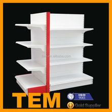 Mini Mart Shelving System With Small Occupied Space And Large Storage