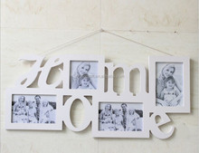 Creative Baby My First Year White Home Wall Hanging Wooden Photo Frame